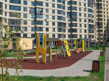 Детская площадка во дворе ЖК Новое Медведково